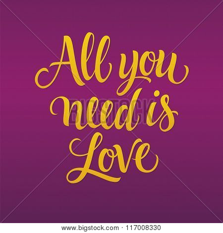 All You Need is Love 4