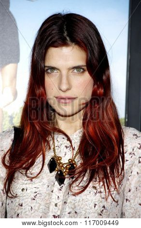 Lake Bell at the Los Angeles Premiere of