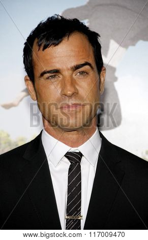 Justin Theroux at the Los Angeles Premiere of