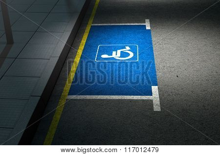 Parking Space Paraplegic