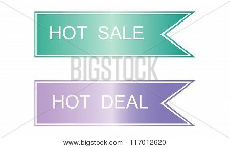 Hot Price And  Deal Labels.
