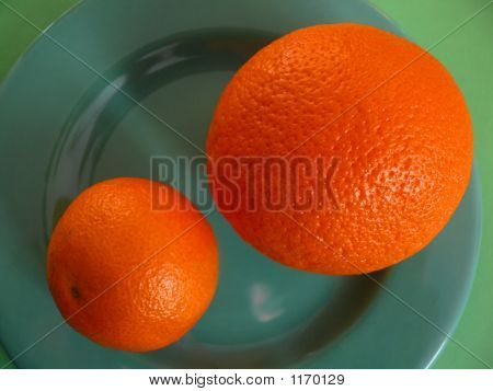 Orange And Mandarin