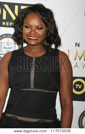 LOS ANGELES - FEB 4:  Shanice Williams at the Non-Televised 47TH NAACP Image Awards at the Pasadena Conference Center on February 4, 2016 in Pasadena, CA