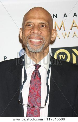 LOS ANGELES - FEB 4:  Kareem Abdul-Jabbar at the Non-Televised 47TH NAACP Image Awards at the Pasadena Conference Center on February 4, 2016 in Pasadena, CA