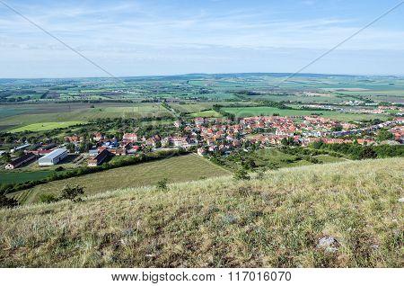 Aerial View In Mikulov