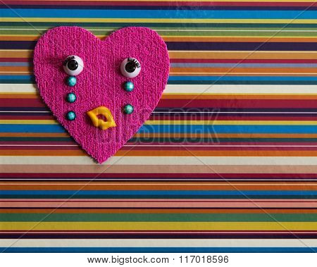 Crying toy heart.