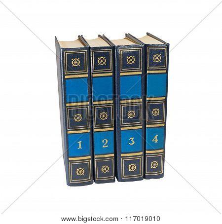 Four Book Volumes