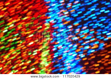 Colored Lights Background. Abstract Backdrop