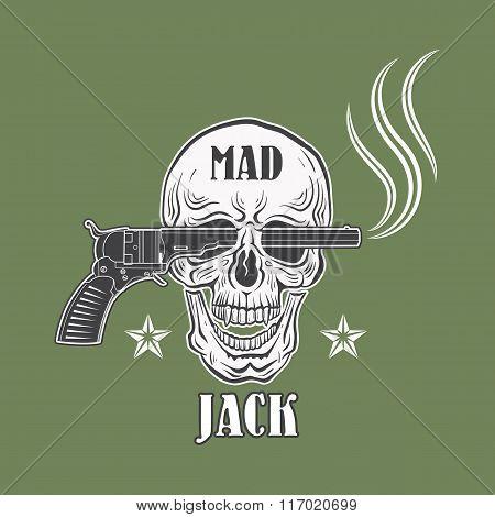 Mad Jack Cowboy Emblem