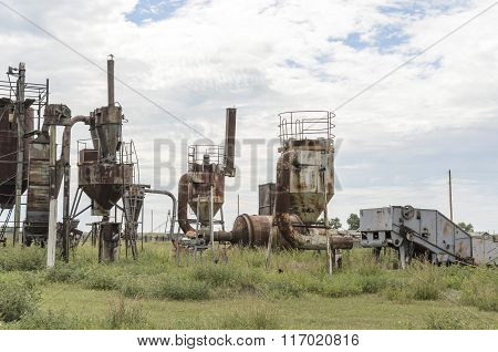 Old grinder mashines
