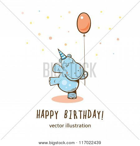 Vector Birhday Card.