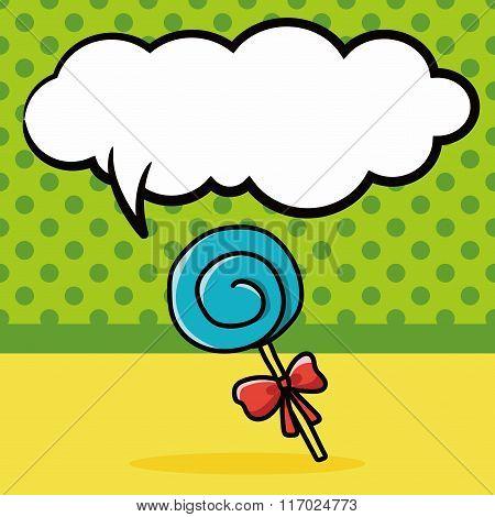 Candy Lollipop Doodle