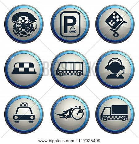 Symbols of taxi services
