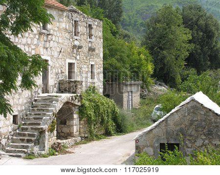 Abandoned Village Around Markaska In Croatia