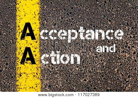 Business Acronym Aa Acceptance And Action
