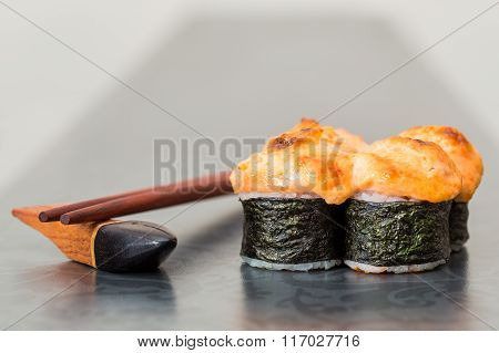 Baked Sushi Roll