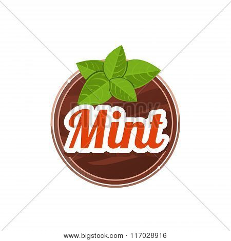 Mint Spice. Vector Illustration.