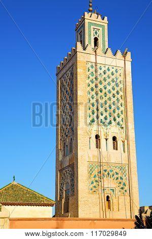History In Maroc Africa  Minaret       Sky