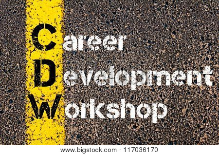 Business Acronym Cdw Career Development Workshop