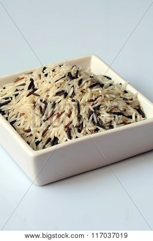 Uncooked Mixed Rice