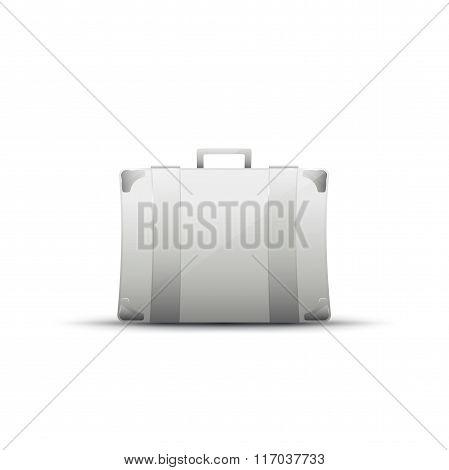Business briefcase, modern icon