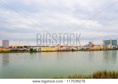 panorama of kazan