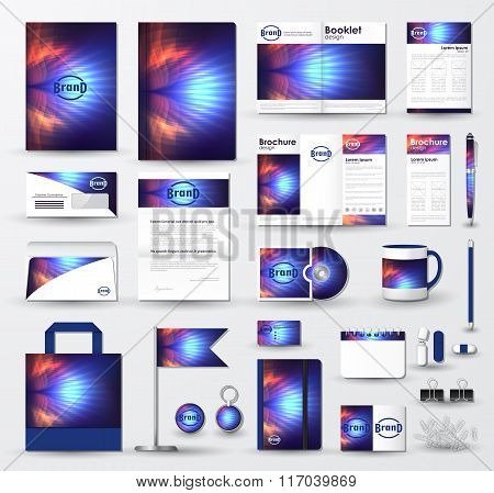 Business Corporate Identity Template Set With Logo