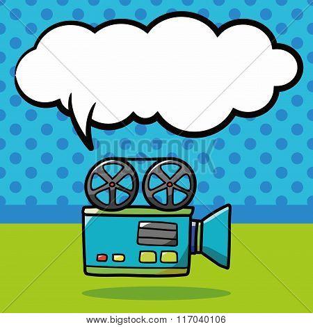 Video Camera Doodle