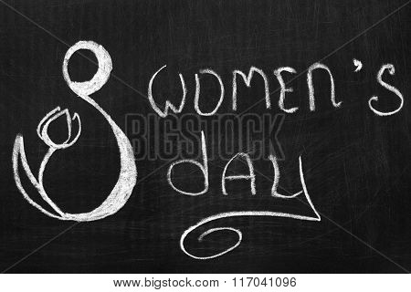 International Women's Day The Eighth Of March.
