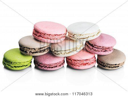 Colorful Macaroon Cake