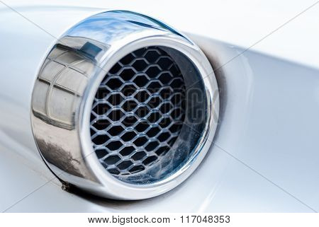 Car Detail Of Air Intakes