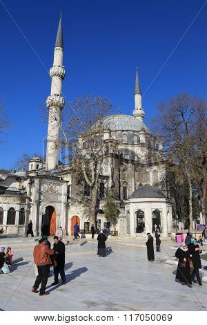 Eyup Mosque in Istanbul