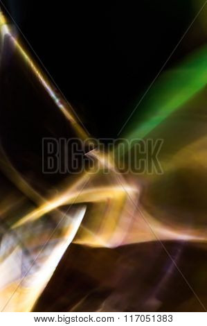 Abstract background green white and brown