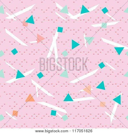 Seamless geometrical patterns set in vector Creative mosaic fashion pattern for design .Background