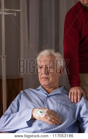 Senior Man With Incurable Disease