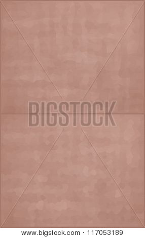 Vector Illustration - 2 Beige Abstract Mosaic Polygonal Backgrounds