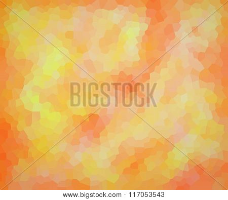 Vector Illustration - Bright Abstract Mosaic Polygonal Background