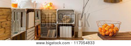 Diy Bookcase Design In New Interior