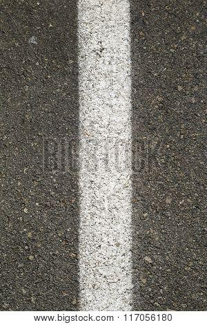 Asphalt stripe