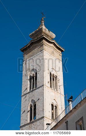 Collegiate church St. Maria della Colonna. Rutigliano. Apulia.