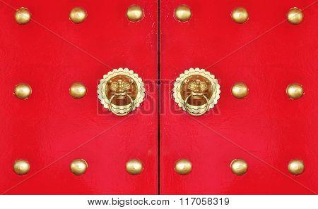 Vintage Chinese Door