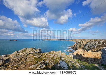The Cliffs At The Cape Of Pointe De Pen-hir, Bretagne, France