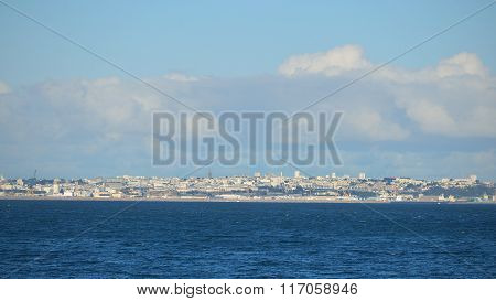 Brest City And Its Harbor, France