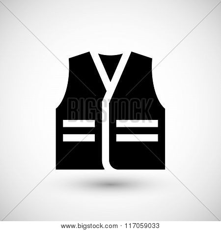 Working vest icon