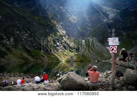 Tatra Mountains tourist trail
