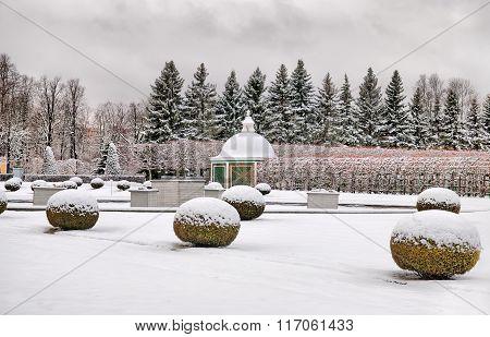 Peterhof. Russia. The Upper Garden
