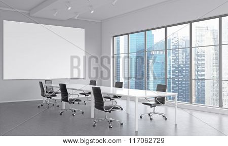Meeting Room For Seven People