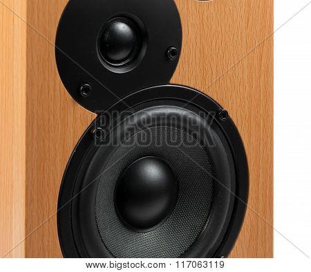 Speaker Isolated On White Background