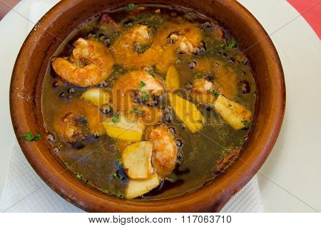 Hot Prawn Pil Pil