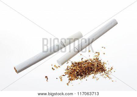 Tabacco And Cigarette
